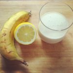 "Feel good with the ""Cinnamon & Banana Squeeze"""